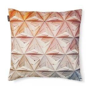 Poszewka na poduszkę Snurk Geogami Pink, 50x50 cm