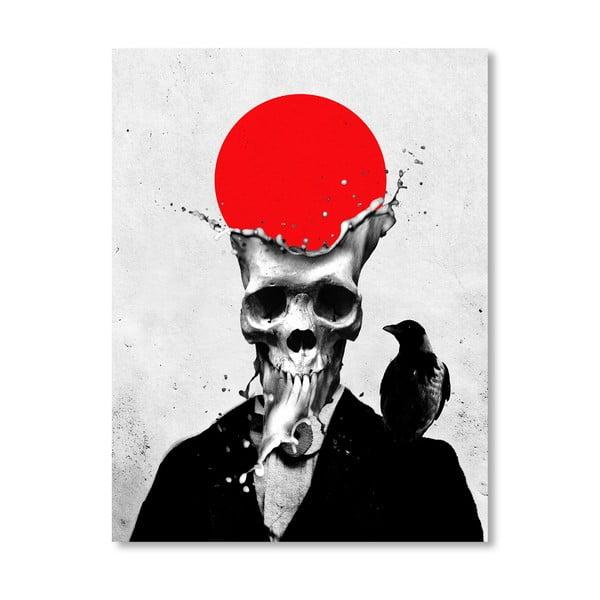 "Plakat autorski ""Splash Skull"""