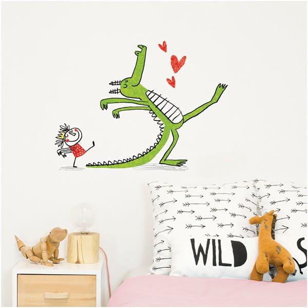 Naklejka dekoracyjna na ścianę My Dragon