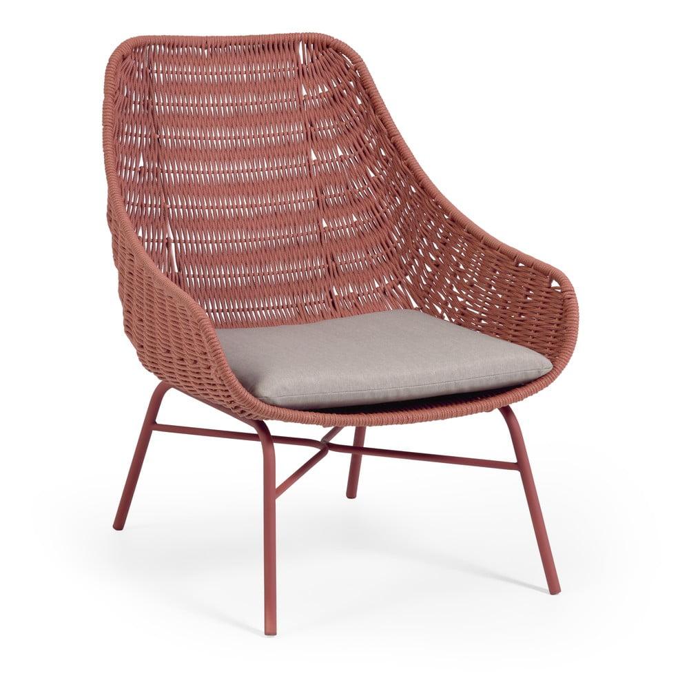 Krzesło ogrodowe w kolorze terakoty La Forma Abeli