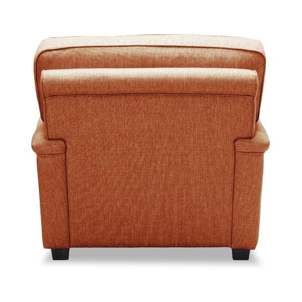 Pomarańczowy fotel VIVONITA William