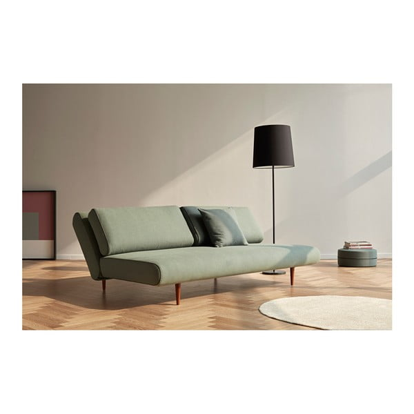 Szarozielona sofa rozkładana Innovation Unfurl