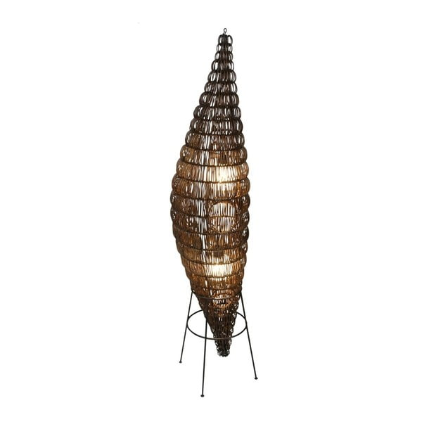 Brązowa lampa stojąca Naeve Puppe