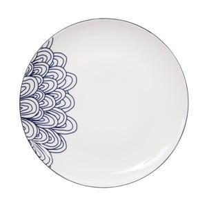 Talerz porcelanowy Tokyo Design Studio Le Bleu De Nimes, ⌀ 27 cm