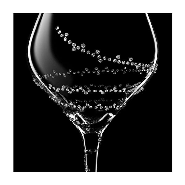 Zestaw 2 kieliszków do białego wina Selene ze Swarovski Elements