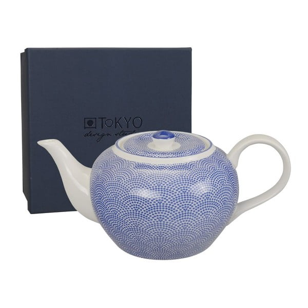 Porcelanowy dzbanek Nippon Blue Dots, 1l