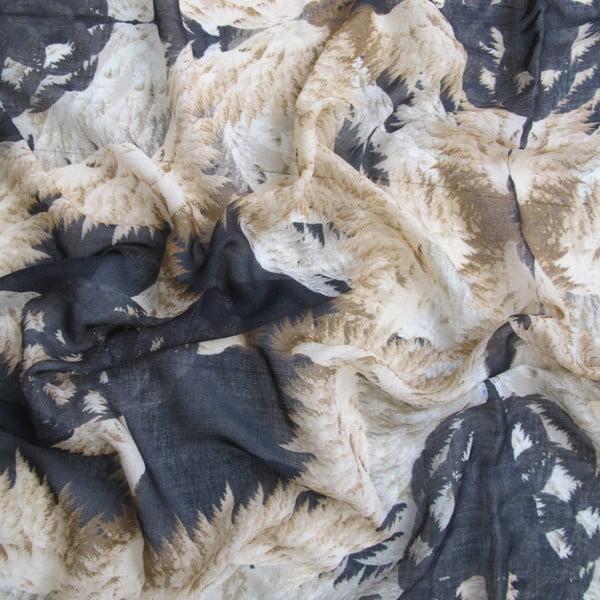 Wełniana chusta z dodatkiem kaszmiru Cleo, 130x130 cm