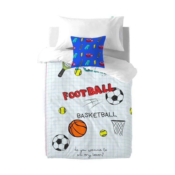 Poszwa na kołdrę i poduszkę Sports 140x200 cm