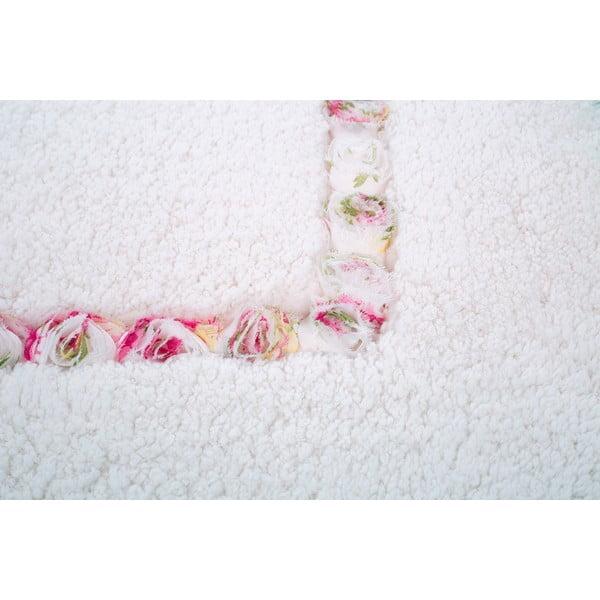 Zestaw 2 dywaników łazienkowych Frenésie Cream
