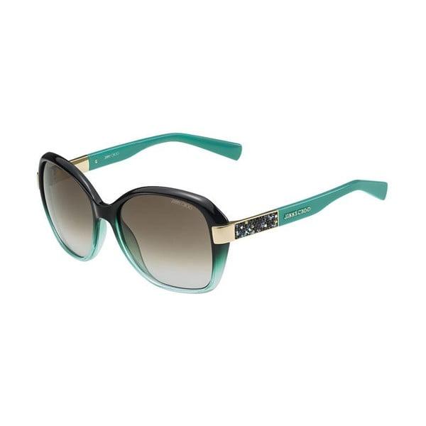 Okulary przeciwsłoneczne Jimmy Choo Alana Petrol/Brown