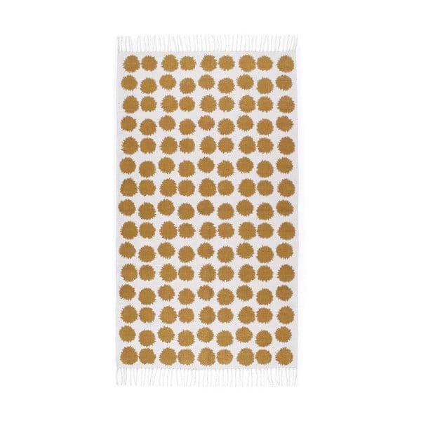 Pomarańczowo-biały dywan Roomblush Fluff,80x140cm