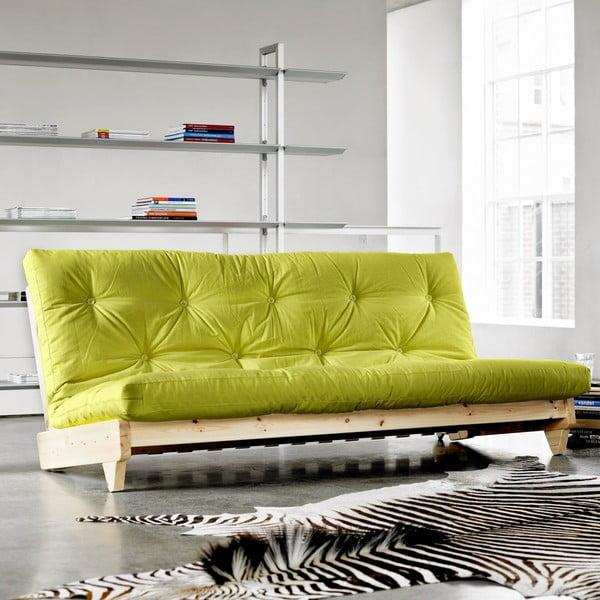 Sofa rozkładana Karup Fresh Raw/Pistacie
