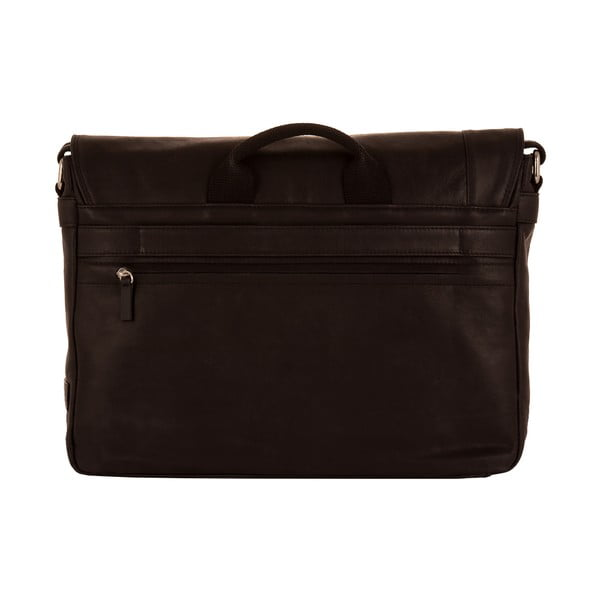 Męska torba listonoszka Vintage Black