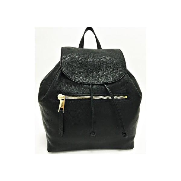 Skórzany plecak Era Black