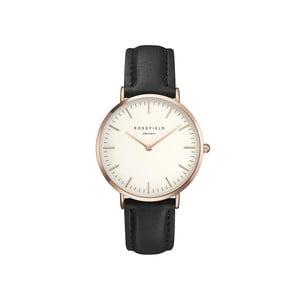 Zegarek damski Rosefield - The Bowery, biały/czarny/rosegold