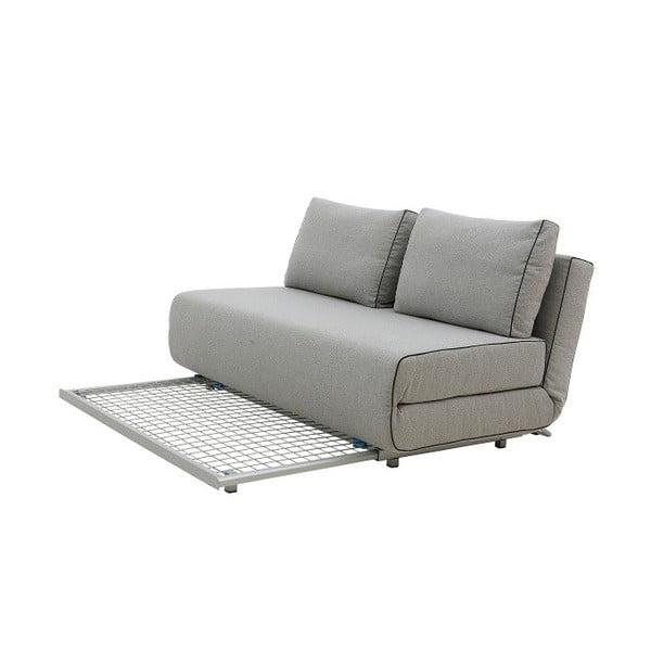 Ciemnoszara sofa rozkładana Softline City