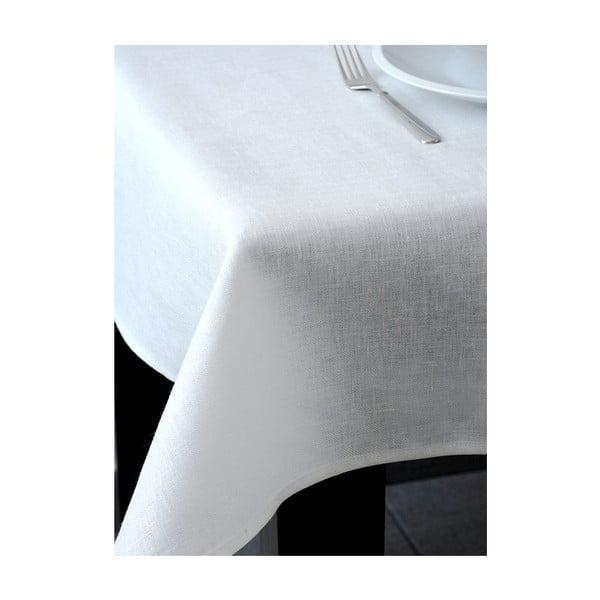 Lniany obrus Spring 140x180 cm, biały