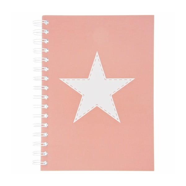 Notatnik Stars Rosa