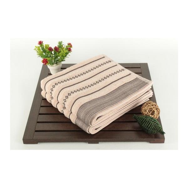 Zestaw 2 ręczników Patricia Bombeli Powder, 50x90 cm