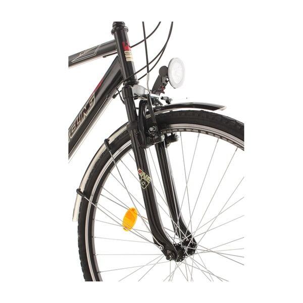 """Męski rower City Bike CLX KS Black, 28"""", wysokość ramy 53 cm"""