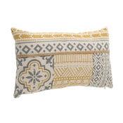 Poduszka z dekorem w kolorze złota InArt Soleado, 30x50cm
