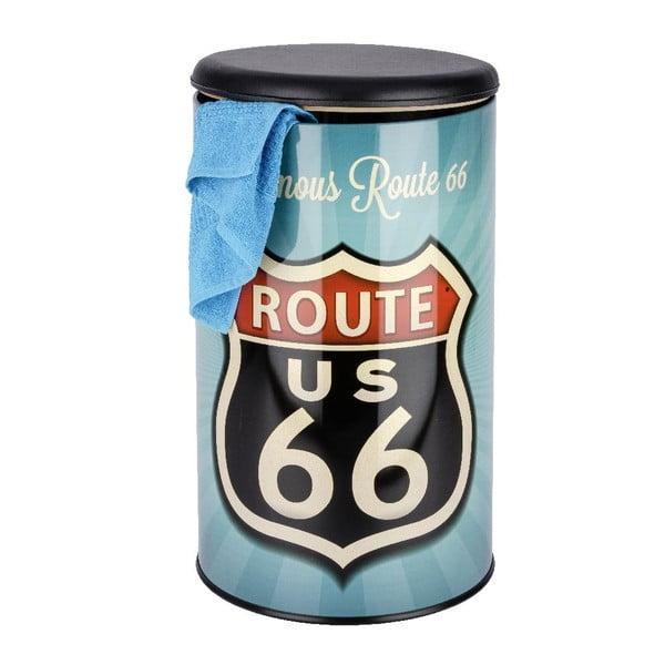 Kosz na pranie w stylu retro Wenko Route 66