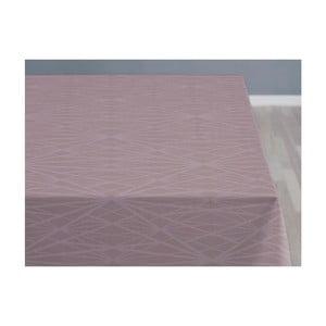 Różowy obrus Södahl Diamond, 140x220 cm