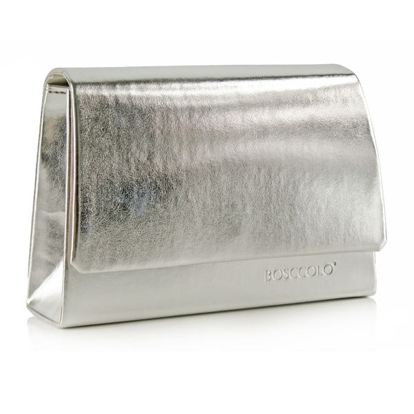 Skórzana kopertówka Boscollo Silver 3486