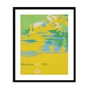 Plakat w czarnej ramie Design Icon No.19