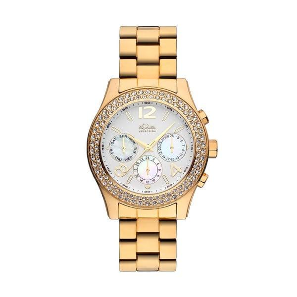 Zegarek w złotym kolorze s.Oliver