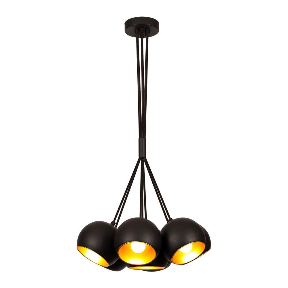 Czarna lampa wisząca Opviq lights Sivani