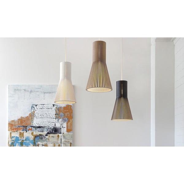 Lampa wisząca Secto 4201 Walnut, 45 cm