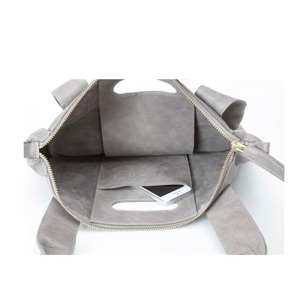 Skórzana torebka Marilla Cupboard Grey