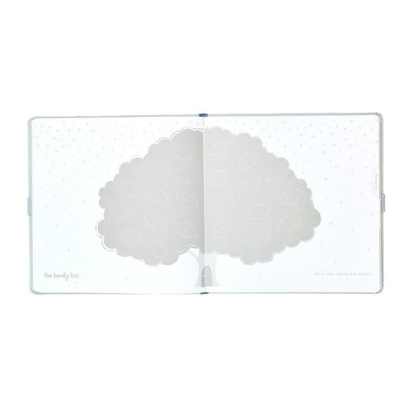 Jasnoszary pamiętnik niemowlaka Busy B, 60 str.