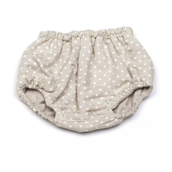Dziecięce majtki na pieluchę (dwustronne) Polka Dot, od 3 do 6 miesięcy