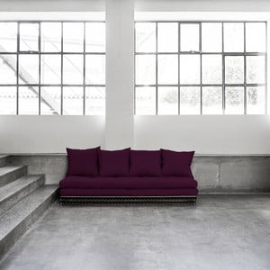 Sofa rozkładana Karup Chico Purple Plum