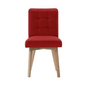 Czerwone krzesło My Pop Design Haring