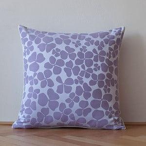 Poduszka z wypełnieniem Dark Violet Flowers, 50x50 cm
