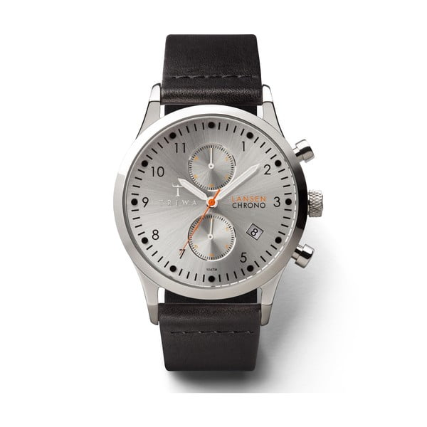 Zegarek Triwa Stirling Lansen Chrono Black
