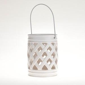 Ceramiczny lampion White Deco