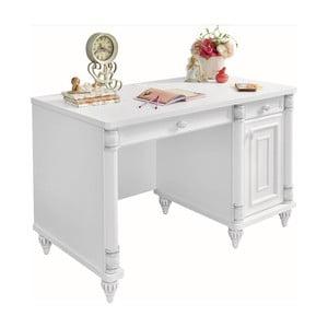 Białe biurko Romantic Study Desk