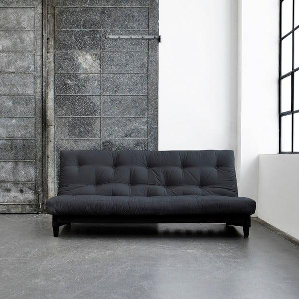 Sofa rozkładana Karup Fresh Wenge/Gray