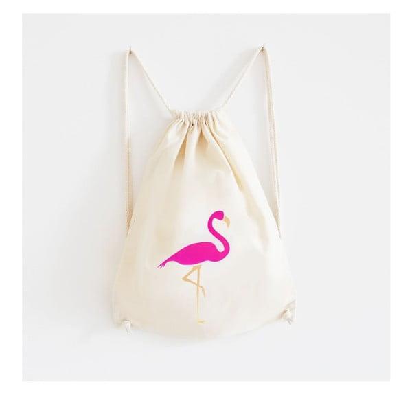 Plecak płócienny Mosaik Flamingo