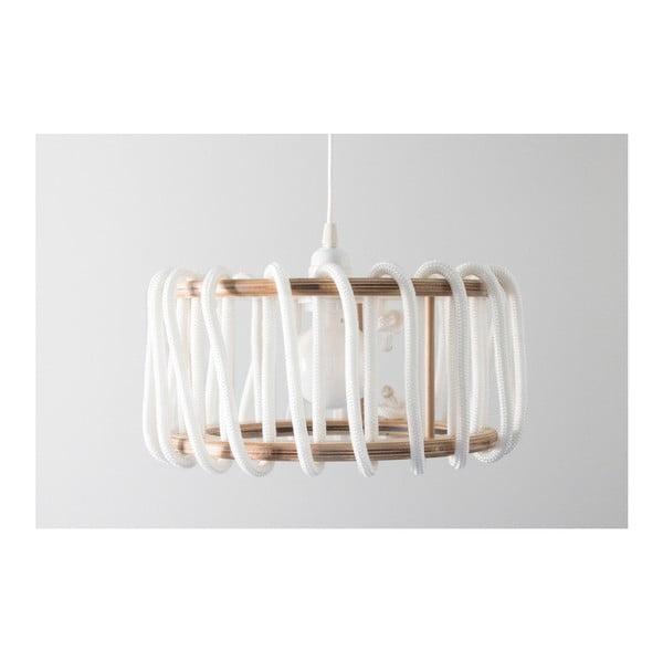 Biała lampa wisząca EMKO Macaron, 30 cm
