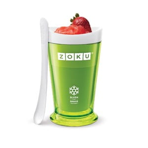 Zielona maszynka do shake'ów Zoku Slush
