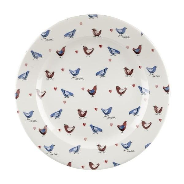 Komplet 3 talerzy Lovebirds, 31 cm