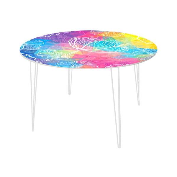 Stół do jadalni Flower Jellyfish, 120 cm