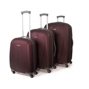 Zestaw 3 walizek Tempo Vino