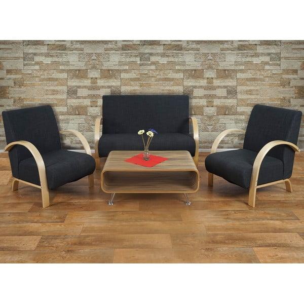 Sofa dwuosobowa Spiez Dark Brown