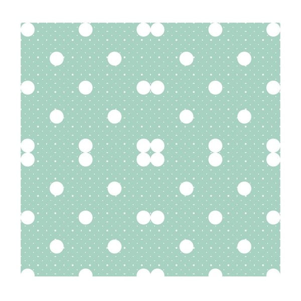 Tapeta Dots Pastelgreen